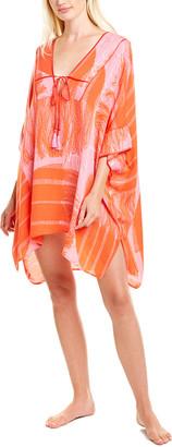 Josie Natori Manila Bay Silk Dress