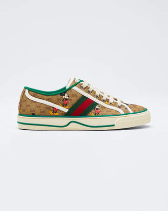 Gucci Disney x Vulcan Mickey GG Canvas Sneakers