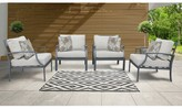 Bronx Benner Patio Chair with Cushions Ivy