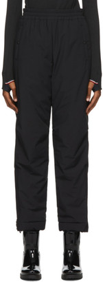 MONCLER GRENOBLE Black Ski Lounge Pants