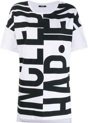 Liu Jo logo print T-shirt
