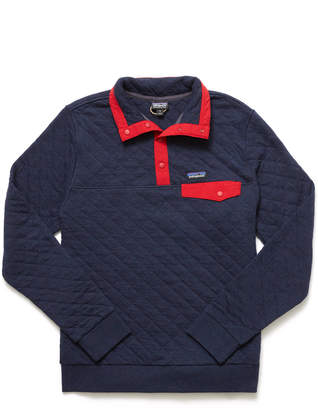 Patagonia Navy Organic Cotton Quilt Snap-T Pullover Navy M