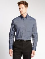 Marks and Spencer Big & Tall Pure Cotton Easy to Iron Shirt