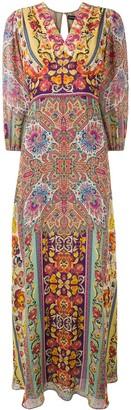 Etro Long Printed Dress