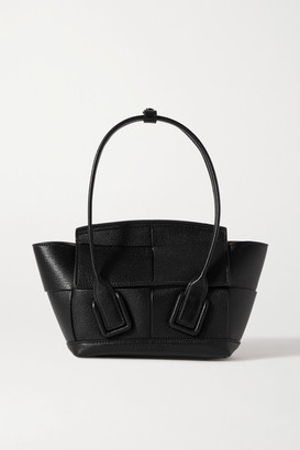 Bottega Veneta Arco Mini Intrecciato Textured-leather Tote