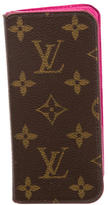 Louis Vuitton Monogram iPhone 6/6S Folio Case