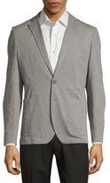 Saks Fifth Avenue Slim-Fit Cotton Knit Blazer