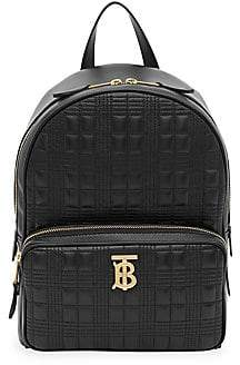 Burberry Women's TB Quilted Leather Backpack