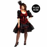 Asstd National Brand Saloon Girl 4-pc. Dress Up Costume