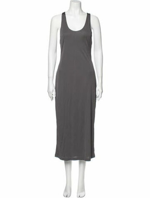 alexanderwang.t Scoop Neck Long Dress w/ Tags Grey