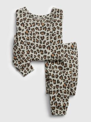 Gap babyGap Leopard Print PJ Set