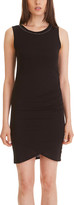 Gottex X by Women's Casual Dresses BLACK - Black Tulip-Hem Sheath Dress - Women