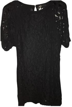 Maje Black Lace Dress for Women