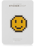 Anya Hindmarch Pixel Smiley small sticker