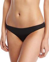Onia Lily Stretch Solid Swim Bottom, Black
