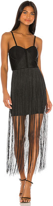 Elliatt Mariana Fringe Dress