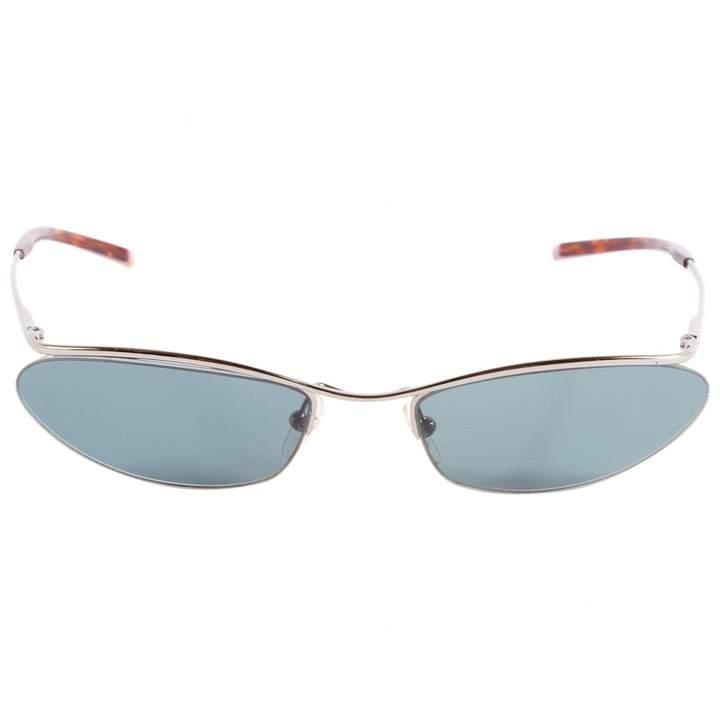 Gucci Silver Metal Sunglasses