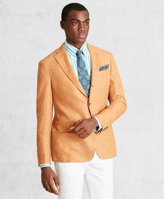Brooks Brothers Golden Fleece Wool-Blend Basketweave Sport Coat