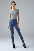 Forever 21 High-Waisted Super Skinny Jeans
