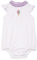 Magnolia Baby Baby Girl's Ruffled Polka Dot Bodysuit