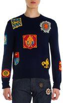 Alexander McQueen Jacquard Badge Sweater