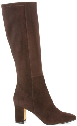 Manolo Blahnik Pita Tall Suede Boots