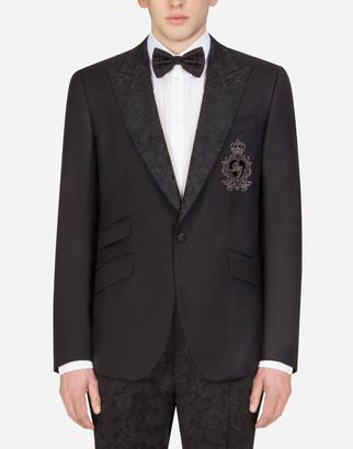 Dolce & Gabbana Sicilia Tuxedo Jacket With Patch