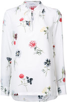 Equipment floral longsleeve shirt - women - Silk - XS