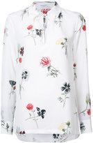 Equipment floral longsleeve shirt