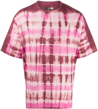 Isabel Marant tie-dye crew neck T-shirt