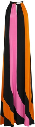Diane von Furstenberg Kristine striped silk maxi dress