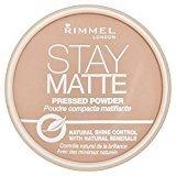 Rimmel Stay Matte Pressed Powder, Silky Beige 14ml by
