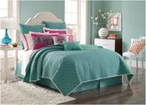 Laundry by Shelli Segal Shiva Coverlet, Queen - Blue - Queen