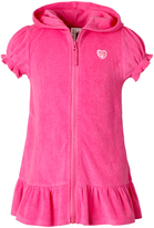 Pink Platinum Knock Out Pink Ruffle-Hem Cover-Up - Toddler & Girls