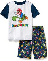 Old Navy Super Mario Sleep Set for Boys