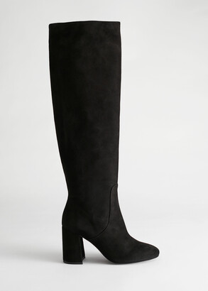 And other stories Knee High Suede Boots