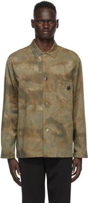 McQ Green Twill Lewis Shirt Jacket