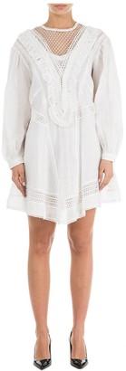 Isabel Marant Mesh Detail Mini Dress