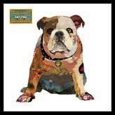 Soundslike HOME Collage Art British Bulldog