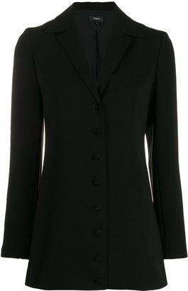 Theory Classic Single-Breasted Blazer