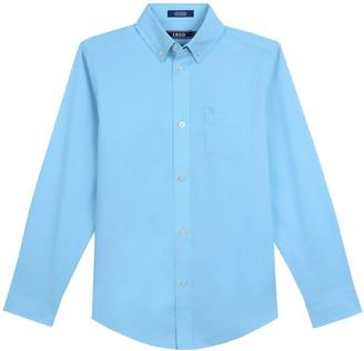 Izod Boys 8-20 Houndstooth Button-Down Shirt