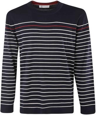 Brunello Cucinelli Striped Sweatshirt