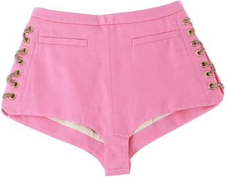DSQUARED2 Pink Cotton Shorts for Women