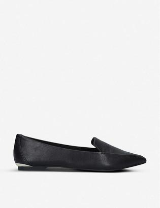 Carvela Land leather point-toe flats
