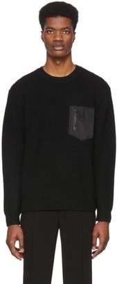 Coach 1941 Black Patch Pocket Sweater