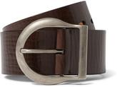 Tom Ford - 5cm Brown Leather Belt