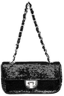 Nina Dulcie Sequined Shoulder Bag