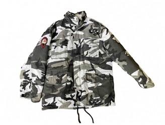 Supreme Grey Cotton Jackets