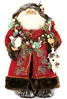 Karen Didion Originals Lighted Woodland Santa