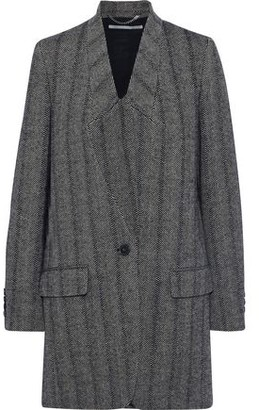Stella McCartney Bryce Herringbone Wool-blend Coat